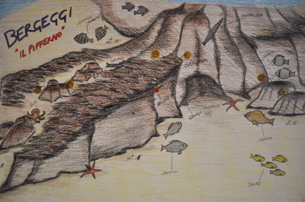 Il pifferaio, Area protetta Bergeggi